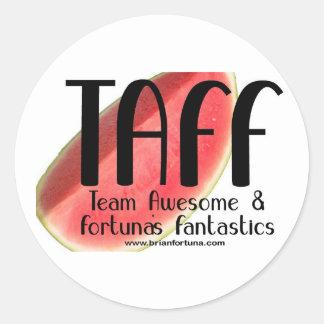 TAFF Watermelon Stickers