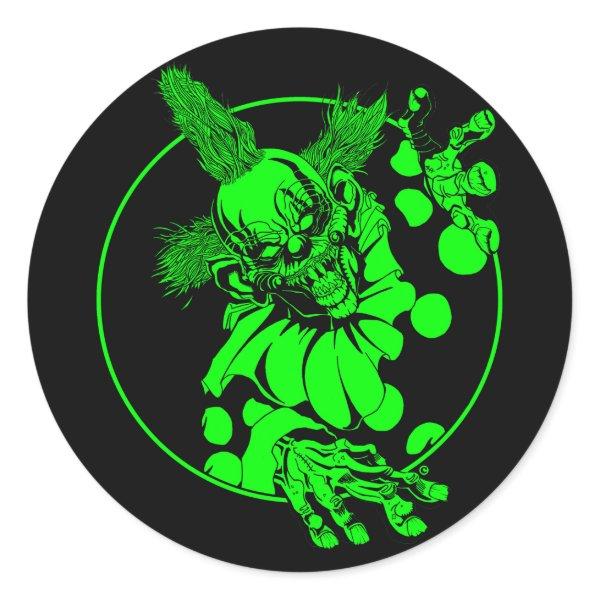 Taffy T. Clown Sticker
