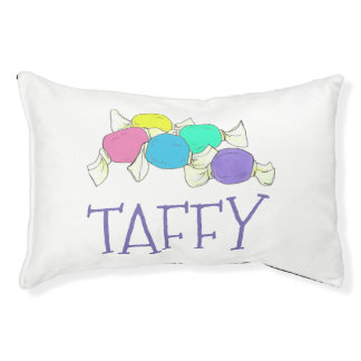 Taffy the Dog Boardwalk Salt Water Candy Beach Pet Bed