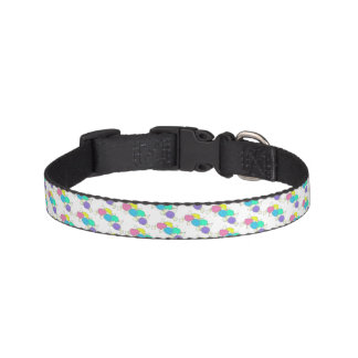 Taffy the Dog Boardwalk Salt Water Candy Beach Pet Collar