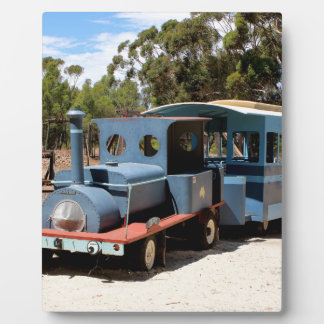 Taffy, train engine locomotive plaque
