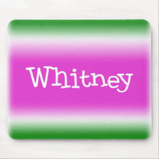 Taffy Twist: Whitney Mouse Pad