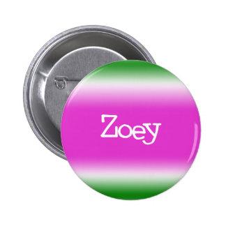 Taffy Twist: Zoey Pinback Button