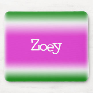 Taffy Twist Zoey Mouse Pads