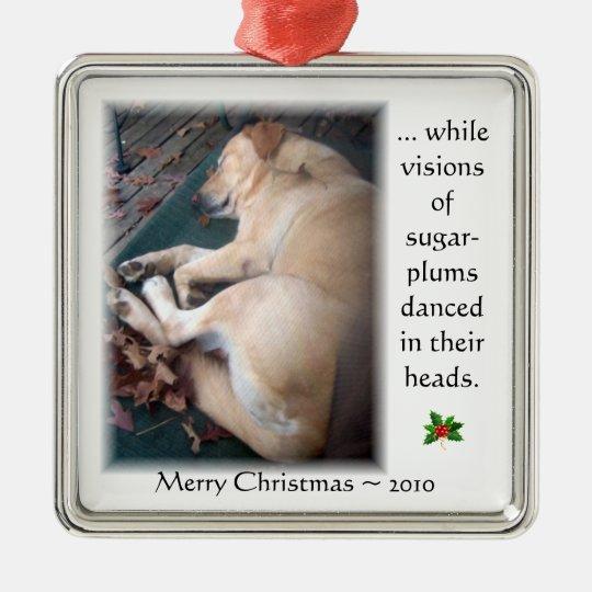 Taffy's Christmas Ornament 2010