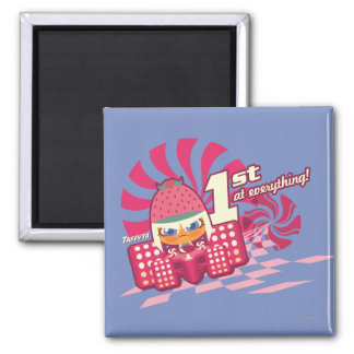 Taffyta: 1st at Everything! 2 Inch Square Magnet