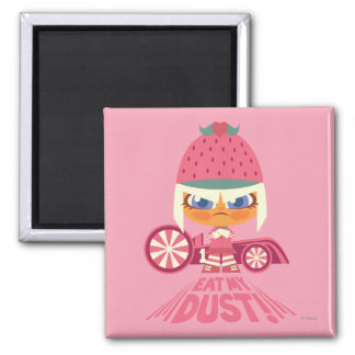 Taffyta: Eat My Dust 2 Inch Square Magnet