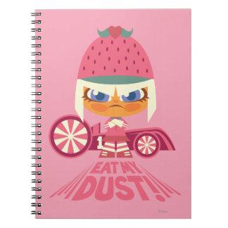 Taffyta: Eat My Dust Spiral Notebooks
