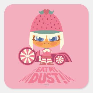 Taffyta: Eat My Dust Square Sticker