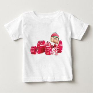 Taffyta Posing with Car Infant T-shirt