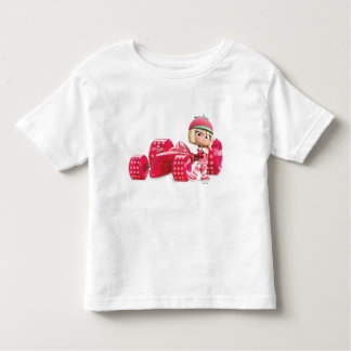 Taffyta Posing with Car T-shirt