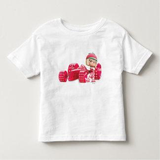 Taffyta Posing with Car T-shirts