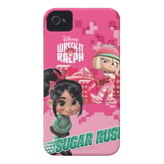 Taffyta & Vanellope iPhone 4 Cover