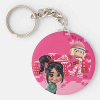 Taffyta & Vanellope Keychain