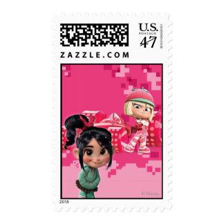 Taffyta & Vanellope Stamp