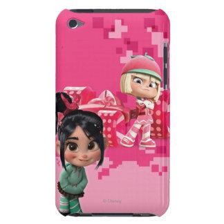 Taffyta y Vanellope iPod Case-Mate Protectores