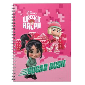 Taffyta y Vanellope Notebook