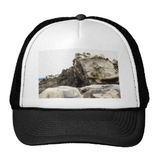 Tafoni Landscape with Large Clasp Trucker Hat