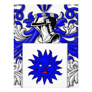 Tafoya Coat of Arms Letterhead Template