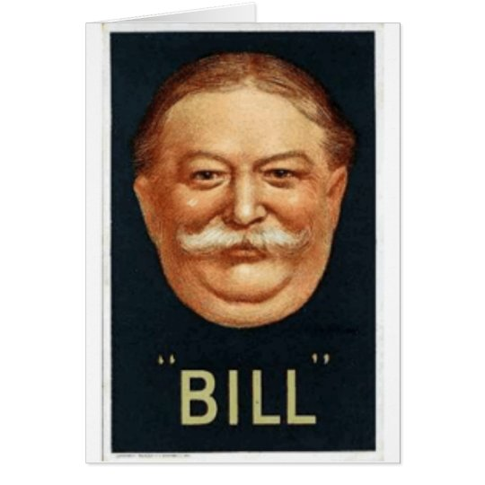 Taft 1908 tarjeta de felicitación