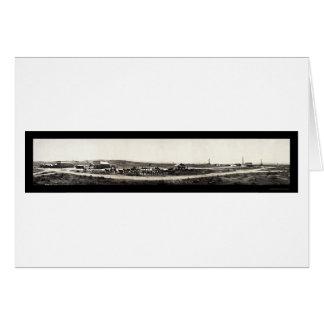 Taft CA Oil Kern Photo 1910 Card