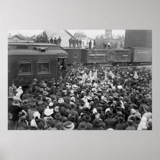 Taft Campaign Speech: 1908 Poster