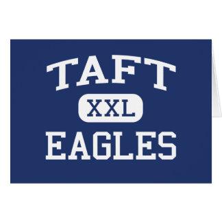 Taft Eagles Middle San Diego California Greeting Card