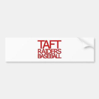 Taft Raiders Baseball - San Antonio Car Bumper Sticker