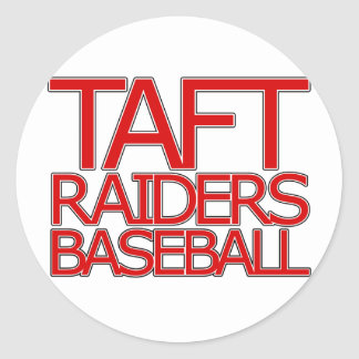 Taft Raiders Baseball - San Antonio Classic Round Sticker