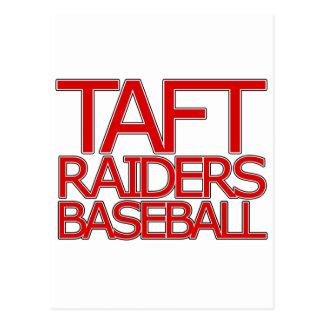 Taft Raiders Baseball - San Antonio Postcard