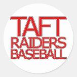 Taft Raiders Baseball - San Antonio Classic Round Sticker
