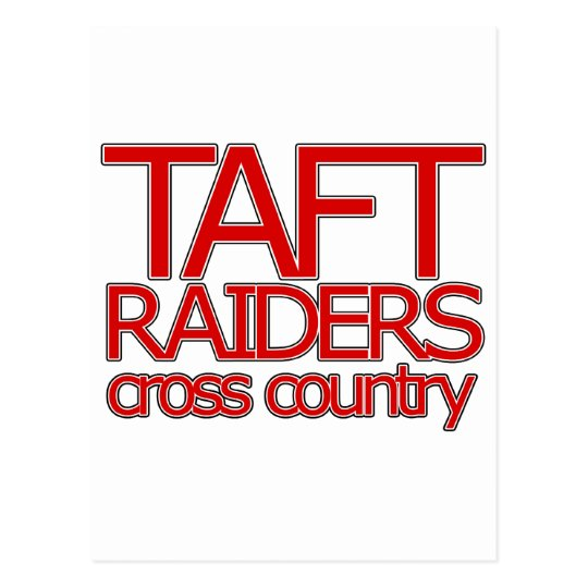 Taft Raiders Cross Countryl - San Antonio Postcard