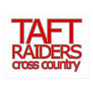 Taft Raiders Cross Countryl - San Antonio Postcard