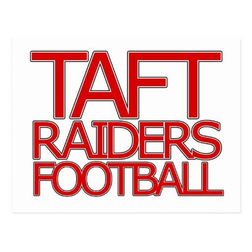 Taft Raiders Football - San Antonio Postcard