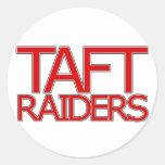 Taft Raiders - San Antonio Classic Round Sticker
