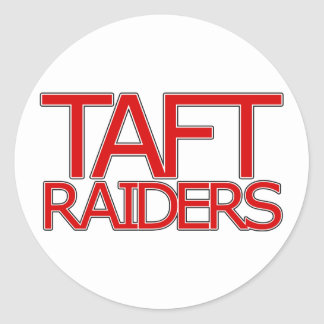 Taft Raiders - San Antonio Classic Round Sticker
