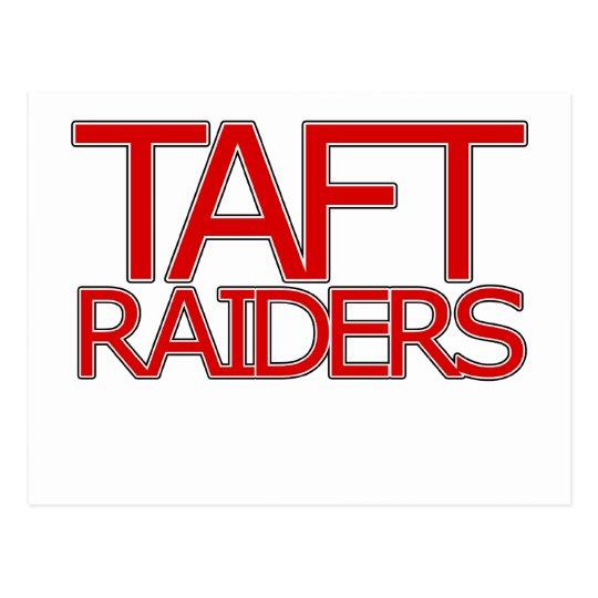 Taft Raiders - San Antonio Postcard