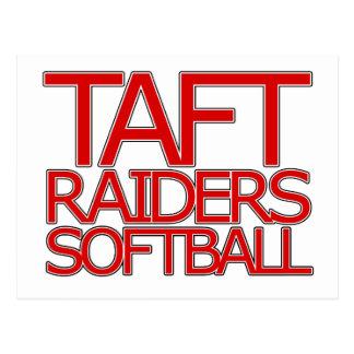 Taft Raiders Softball - San Antonio Postcard