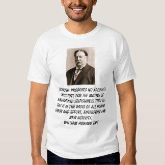 taft, socialismo no propone ningún substituto remeras
