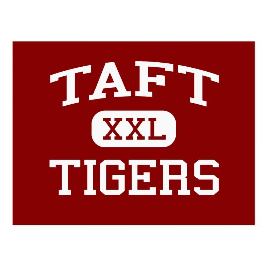 Taft - Tigers - Taft High School - Hamilton Ohio Postcard