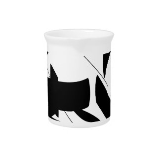 tag calligraphy drink pitcher