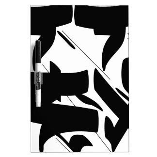 tag calligraphy dry erase board