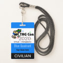 TAG Con 2020 - Blue Quadrant - Civilian Badge