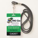 TAG Con 2020 - Green Quadrant - Cadet Badge