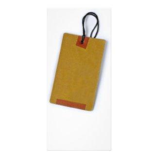 tag custom rack card