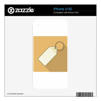 Tag Decals For The iPhone 4S