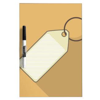 Tag Dry Erase Board