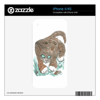 Tag Mouse You re it Meows Cat iPhone 4S Decals