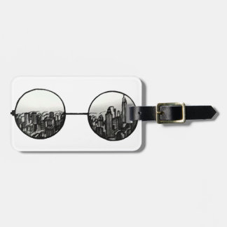 """Tag of luggage """"Through the lenses """""""