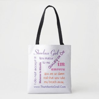 TAG Popular Quotes - 4 Book Covers - Tote